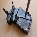 Černá kostka - detail 1 / Black Cube - detail 1